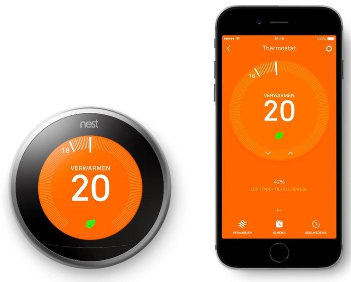 Nest thermostaat en rookmelder