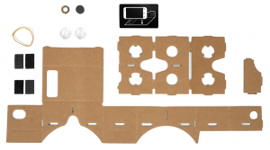 Google Cardboard bouwpakket
