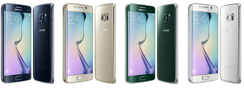 all colors samsung galaxy s6 edge