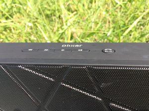 olixar boombrick bluetooth speaker buttons