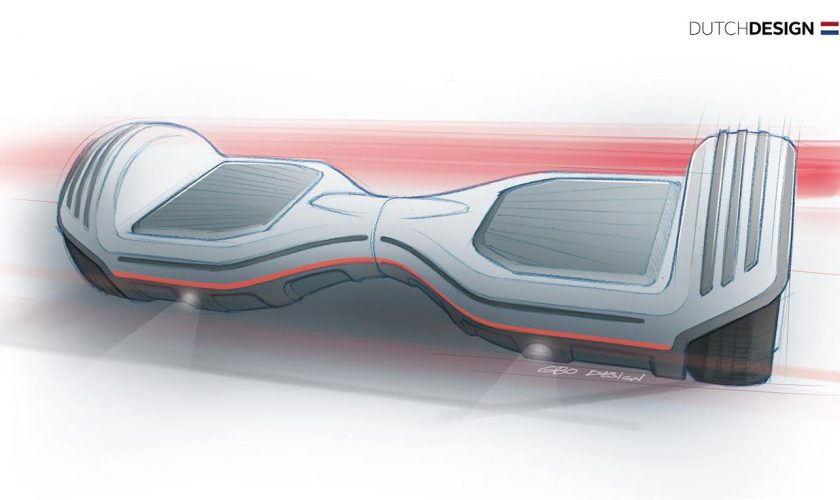 Oxboard hoverboard Dutch Design