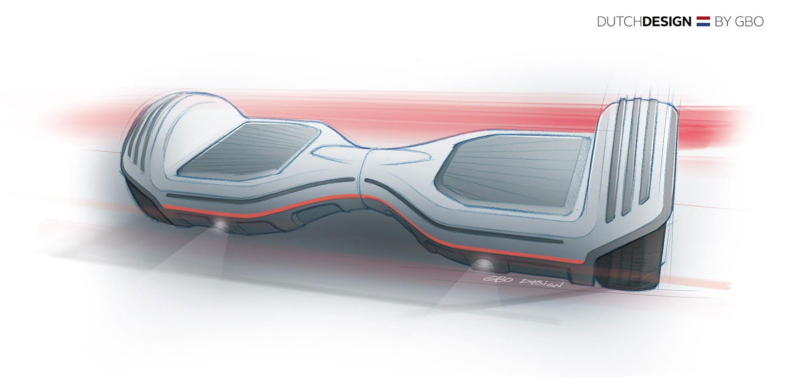 Oxboard hoverboard Dutch Design