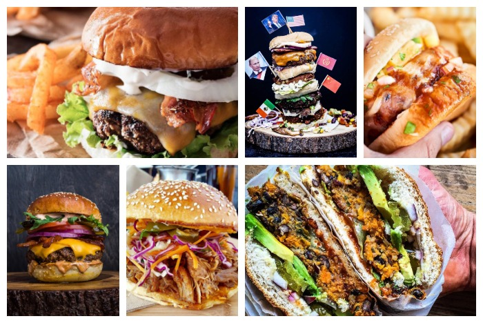 10x burger foodporn – UrStyle.nl