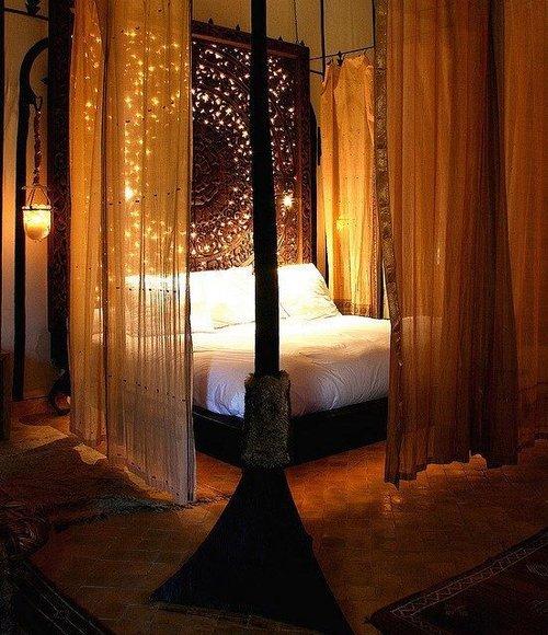 oosterse slaapkamers - midden oosterse interieur inspiratie, Deco ideeën