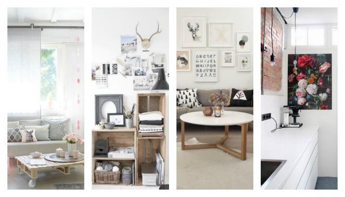 Interieur inspiratie creatieve manieren om goedkoop je huis in te