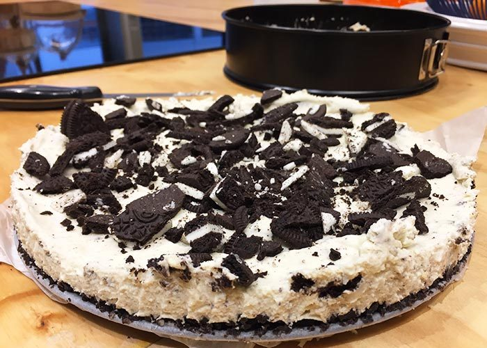 Oreo Cheesecake - Urstyle.nl
