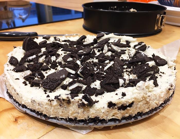 Oreo Cheesecake – Urstyle.nl