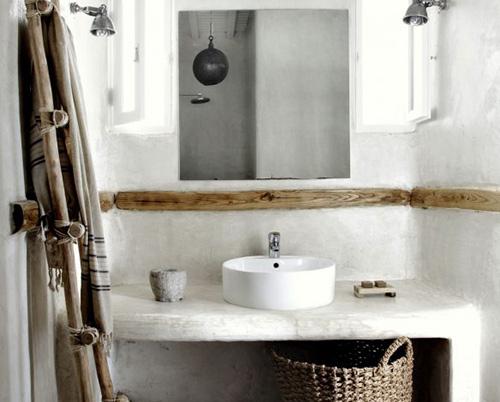 Badkamer ideeën voor een natuurlijke badkamer - Interieur Inspiratie