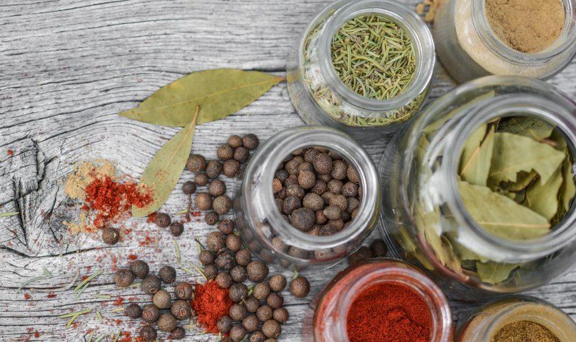 spices krachtige kruiden